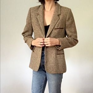 Vintage Ellen Tracy tweed blazer